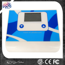 Four moulds digital handpiece permannet tattoo power supply with connecting line
