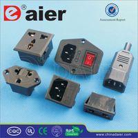Daier 2 PIN 3 gang socket outlet