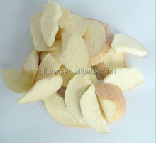 100% natural and sweet Fruit crisps FD apple sliced(5-7mm) in bulk /vacuum package