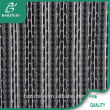 2015 latest Black Vertical stripes new style swiss lace african lace fabric for lace wedding dresses