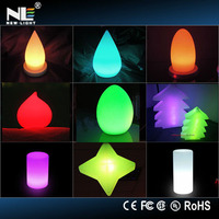 Battery operated color changing led small decorative light/battery operated color changing led lights