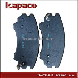 Ceramic Brake Pads Review for USA Cars BUICK CHEVROLET SAAB D1404 13237751