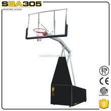 team sport outdoor basketball inground pole