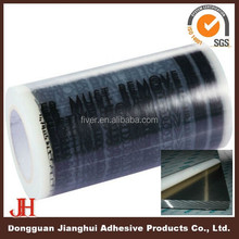 Masking Use Professional Pe Temporary Blue Protective Film For Glass