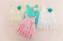 D20728C FASHIONABLE GIRLS LACE DRESS