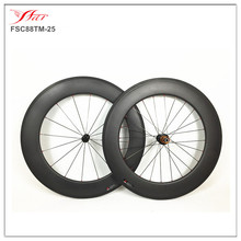 NEW design cycling wheel set carbon dropshipping carbon wheels cheap bike wheels 88mm 25mm