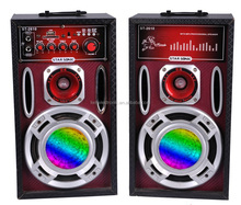 5 inch active speaker subwoofer with LED lighting