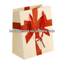 2014 Paper gift bag, paper shopping bag, gift bag