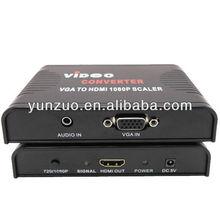 mini VGA rca to HDMI Converter box 1080P