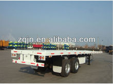 20 foot flat bed container trailer