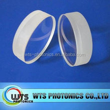 Double convex lens BK7,Fused silica,MgF2,CaF2, BaF2 customized or stock
