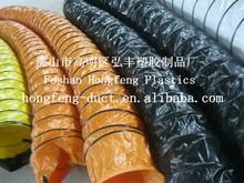 good quality and high pressure pvc exhaust pvc flexible ducting hose