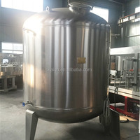 stainless steel hot water storage tank with agitator