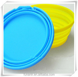 Pet Couture-Silicone Pet Expandable/Collapsible Travel Bowl