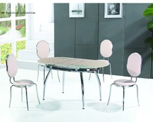 high quality tempered glass dinning table