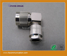 TNC Male electrical Clamp Connector For LMR300 Cable