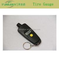 Portable Mini Digital Tire Gauge Tire Pressure Gauge Keychain