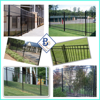 build material steel fence for villas