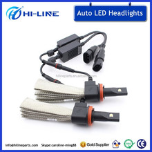 H16 JP led headlight bulbs led auto lights 12v 20w H16 led headlight 6500K super bright led headlight bulb h16