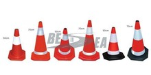 Pink Rubber 500mm Traffic Road Safety Cone Traffic Equipment