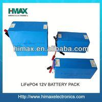 e-scooter lifepo4 12v 200ah battery pack
