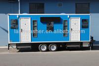 2013 hot sale landwasher mobile trailer toilet