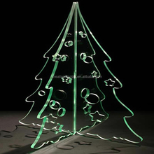 Factory direct sale cheap laser acrylic christmas tree,christmas tree decoration,led christmas tree