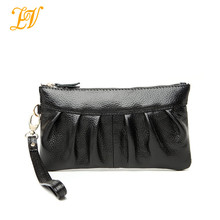 2014 Promotion wholesale products women leisure genuine leather clutch bags in stock