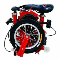 "Look here!Advanced New folding bicycle in 14"" great gift present"