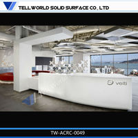 2015 China manufacturing office furniture receiption desk & counter