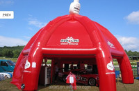 exhibition /sales promotion used customized advertising inflatable tent