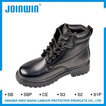 LAVA black leather Safety Shoes
