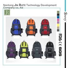 2015 hot sell solar hiking/mountaineering bag Hiking bag sport bag