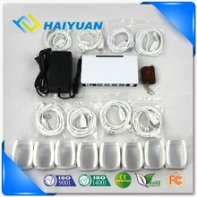 Elegant multiple 8 ports mobile phone and tablet anti-theft alarm display system with charging