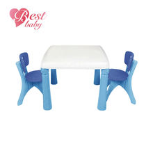 Kids plastic table and chairs for study and play