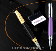 Retro cheape metal roller pen stainless steel pen signature pen - 908