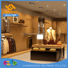 Factory direct sale clothing shops display cabinet ideas