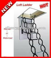 Remote control folding loft ladder ( EN131 )