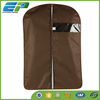 Coffee Colour Mens Business suit cover with PVC window