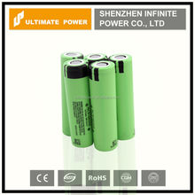 Authentic 18650 battery panasonic ncr18650b 3400mah high capacity rechargeable battery for e-cigarette mod
