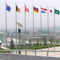 stainless steel flag pole