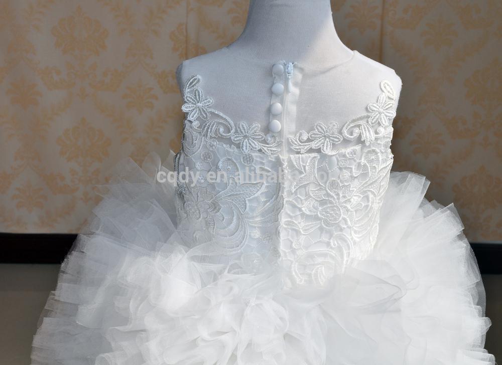 2015 New Design Little Bridesmaid\'s Princess Wedding Dresses/girls ...