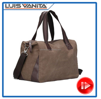 Canvas Sports Duffel Bag Travel Luggage Carry on Bag