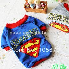 A1016 Dog Superman Clothes T Shirt Cat Pet Coat Factory Produce
