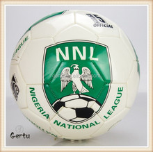 Top quality machine sewn national soccer balls