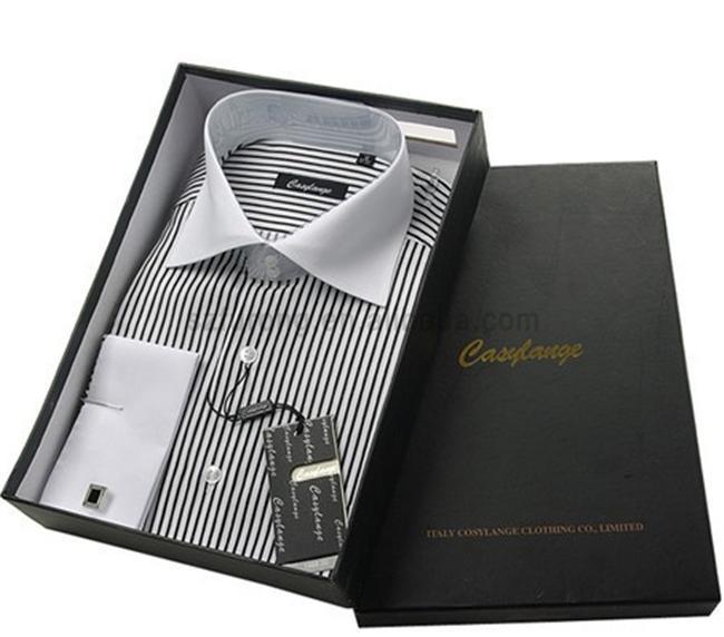 Лучшая цена пользовательские подарочная коробка для одежды