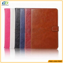 flip stand pu leather case for ipad mini4 wallet leather cover case