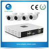 hot new 720p mini outdoor indoor ip camera poe cctv kits 4, security system