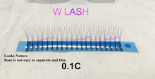 New Hot Sale Y lashes W lashes M lashes Eyelash Extension Stock/Japan Quality 0.20 thickness High quality