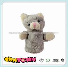 Caliente- personalizado ventas títeres/marionetas dedo, animales dedo títeres/marionetas, marioneta de dedo